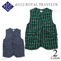 POST OVERALLS(ポストオーバーオールズ)♯1512 ROYAL TRAVELER 2color