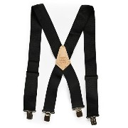Heritage Leather | 115 サスペンダー(BLACK) HEAVY DUTY SUSPENDER | ヘリテージレザー