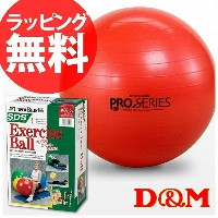 【D&M】ディーアンドエム SDS-55(レッド)EXERCISE BALL/エクササイズボール(プロシリーズ) 【エクササイズボール/...
