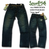 SC40901H ロンスタージーンズ FIBER DENIM 14oz LONE STAR JEANS 5Year Aged 50's MADE IN JAPAN_fs04gm