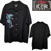 LA ROCKA!・BC ETHIC Rockabilly Lounge Shirt ラロッカ スカシャツ【中古】【RCP】02P03Dec16