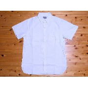 Buzz Rickson's[バズリクソンズ] シャンブレーシャツ 半袖 CHAMBRAY WORK SHIRT BR35857 (OFF WHITE) 【RCP】