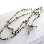 Michel's Vintage Beads Neckrace Rosary Clossヴィンテージビーズネックレス・ロザリオ・クロスペンダント【10P03Dec16】