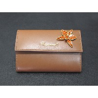 DSQUARED2 ディースクエアード SNAP WALLET SW5001 015 BROWN レディース