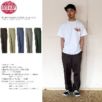RED KAP(【レッドキャップ)綿100%ワークパンツ5カラー#PC20/Wrinkle-Resistant Cotton Work Pantリンクルレジスタントコット...