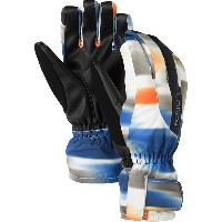 2014■BURTON バートン■WOMEN'S PROFILE UNDER GLOVE■スノーボードグローブ■TRUE BLACK/MIRAGE PRINT■