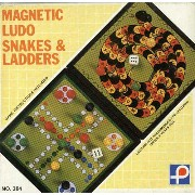 【MAGNETIC LUDO and SNAKES LADDERS】マグネットゲーム ルード・へびとはしご