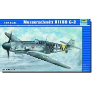 トランペッター 1/24 AIRCRAFT 02406 Messerschmitt Bf109 G-6 early version