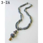 [AD013]TOHOビーズキット SPIRAL TWIST ROPE NECKLACE 3-2[RPT]