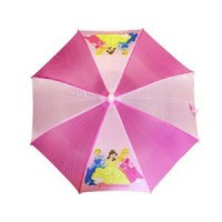 Disney ピンクディズニープリンセスグループショットキッズ傘/Pink Disney Princess Group Shot Kids Umbrella - Disney Kids Umbrella