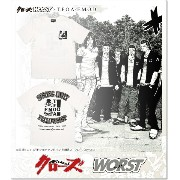 CROWS×WORST 7th T.F.O.A×E.M.O.D TEE (SS:TEE)(CR-075WH)