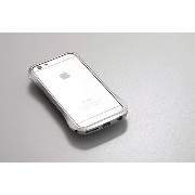 DEFF クリーヴ アルミニウム バンパー for iPhone6/6S シルバー DCB-IP60A6SV/A