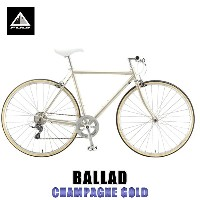 フジ FUJI 正規販売店 2015 自転車 BALLAD (CROSS BIKE) CHAMPAGNE GOLD