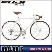 フジ FUJI 正規販売店 2015 自転車 BALLAD R (CROSS BIKE) AURORA WHITE