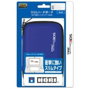 【New3DS/3DS】スリムハードポーチ for Newニンテンドー3DS ブルー 【税込】 ホリ [3DS-217]【返品種別B】【RCP】