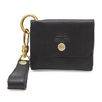 ASSOV アッソブ OILED SHRINK LEATHER CARD CASE カードケース ブラック 101403
