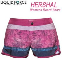 Liquid Force リキッドフォース 2015年モデル WOMENS HERSHAL BOARDSHORTS (ピンク)【10P27Nov16】