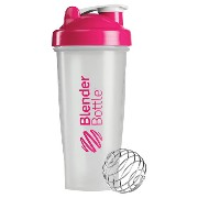 Blender Bottle(ブレンダーボトル) Classic Clear(クラシッククリア) 28オンス(800ml) BBCL28 PK ピンク【S1】