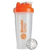 Blender Bottle(ブレンダーボトル) Classic Clear(クラシッククリア) 28オンス(800ml) BBCL28 OR オレンジ