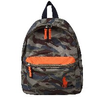 POLO RALPH LAUREN CAMP BACKPACK SMALL/ポロ ラルフローレン リュックサック キャンプ バックパック スモール/カモフ...