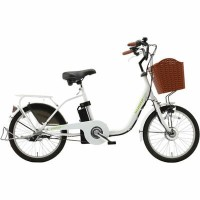 KAIHOU 20インチ 電動アシスト自転車 3段変速 KH-DCY700 WH KH-DCY700-WH