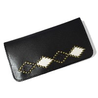 HTC 財布 【htc/ウォレット】 TYPE1 LONG WALLET #W033 BLACK/BRASS