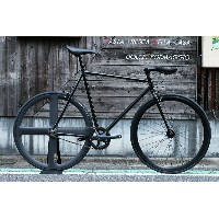 "CARTEL BIKES ""AVENUE LO"" DINER REAR 4SPOKE CARBON WHEEL CUSTOM MAT BLACK【カーテルバイク アベニュー ロウ ダイナー カーボンホ..."