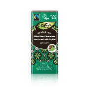 The Raw Chocolate Company - Fairtrade Raw Dark Chocolate With Mint & Xylitol 70% Cacao - 44g