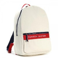 TOMMY HILFIGER トミーヒルフィガー 6929787 BP NATURAL/RED 467 ホワイトレッド バックパック リュックバッグ【】【新品...