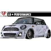 【M's】 MINI R56 LB☆STANCE エアロ サイド スカート // S スポイラー / BMW ミニ クーパー LB☆PERFORMANCE WORKS Cooper Body...