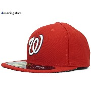 NEW ERA WASINGTON NATIONALS 【ON FIELD PERFORMANCE GAME/RED】 ニューエラ ワシントン ナショナルズ オンフィールド 59FIFTY CAP ...