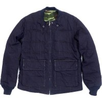 10P03Dec16 【MISTER FREEDOM/ミスターフリーダム】12.4oz. Denim x Camo Quilted Jacket [SC13432]【送料無料】