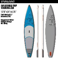 "SUP インフレータブル SUP 12'6""x31"" ツーリング ゼン STARBOARD INFLATABLE SUP TOURING ZEN 12'6""x31"" 2016 パドル,リーシュ,フロ..."