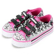 DAZZLE UP- TIPPY TOES/スケッチャーズ(キッズ)(SKECHERS)