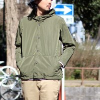 【LA MOND:ラモンド】LM-O-028MEMORY WEATHER 2WAY PARKA[メモリーウェザー2WAYパーカー]【smtb-TK】