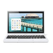 Acer C720P Chromebook クロームブック (Intel Celeron 1.4GHz/2GB/SSD32GB/11.6inch/Chrome OS/Moonstone White) 並行輸入品