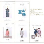 ≪nani IRO sewing pattern≫大人・ベビー・こども用の型紙【Tops 3way】【Baby's set】【kids[French sleeve one piece]】【チュニ...