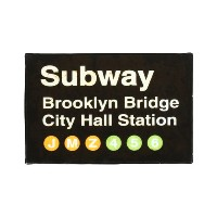 HOUSE USE PRODUCTS SIGN LIGHT [ Subway ] サインライト