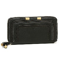 クロエ 財布 CHLOE 3P0571 161 001 MARCIE Long Zipped Wallet 長財布 BLACK