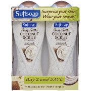 Softsoap Body Wash, Coconut Scrub, 2 Count by Softsoap [並行輸入品]