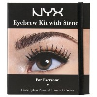 NYX Eyebrow Kit with Stencil - For Everyone (並行輸入品)