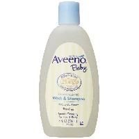海外直送品Aveeno Baby Wash And Shampoo, 8 oz by Aveeno