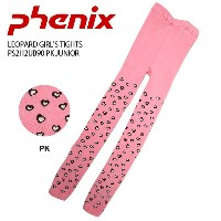 PHENIX フェニックス インナー LEOPARD GIRL'S TIGHTS PS2H2UB90 PK JUNIOR