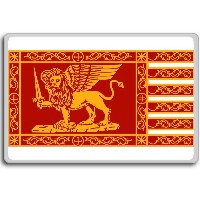 Italy, Republic Of Venice City flag fridge magnet - ?????????