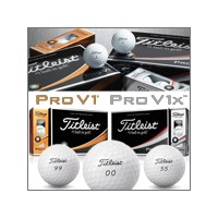 Titleist 2016 Personalized Pro V1x Double Digit カスタムボール【ゴルフ 特注/オーダーメイド>特注-ボール】