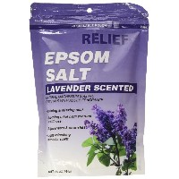 【RELIEF MD】エプソムソルト ラベンダー 454 g (並行輸入品) Relief MD Lavender Epsom Salts, 16-oz. Packs