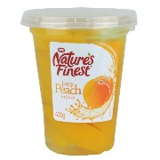 Nature's Finest - Juicy Peach in Juice - 400g (Case of 6)