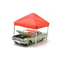 """AMERICAN DIORAMA 1:24SCALE """"ACCESSORY CANOPY SET""""TENT(BLUE&RED) アメリカンジオラマ 1:24スケール 「アクセサリー キャノピー ..."""