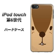 iPod touch 6 第6世代 ハードケース / カバー【349 りす 素材クリア】★高解像度版(iPod touch6/IPODTOUCH6/スマホケース)