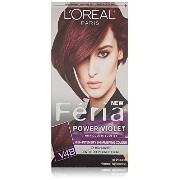 L'Oreal Paris Feria Hair Color, Power Violet [並行輸入品]